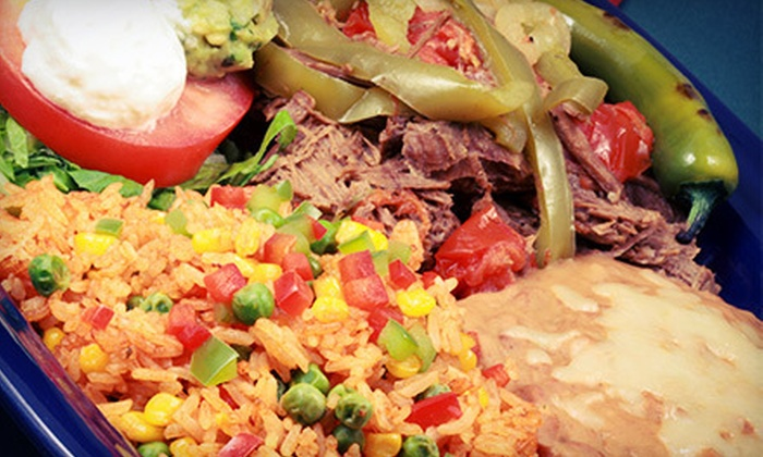 Red Pepper Grill - South Los Altos: Mexican Cuisine for Two or Four at Red Pepper Grill (Half Off)