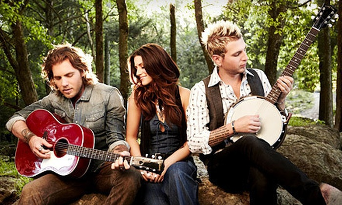 Labor Day Music Festival - C.O.V.A.C.: Labor Day Music Festival for Two Featuring Gloriana and Love and Theft at The Gallivan Center on September 3 at 11 a.m. (Up to 60% Off)