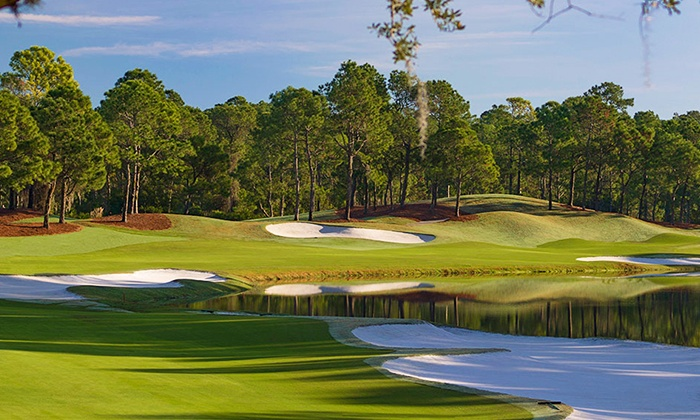 Tranquilo Golf Club - Walt Disney World Resort: 18 Holes of Golf and Course Replay for 1, 2, or 4 at Tranquilo Golf Club at Four Seasons Resort (Up to 59% Off)