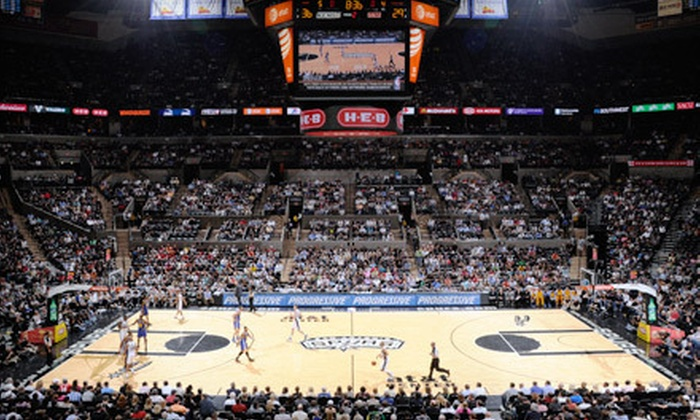 San Antonio Spurs - Multiple Locations: San Antonio Spurs Game at AT&T Center on March 20 and Austin Toros Game Voucher (Up to 61% Off). Two Options Available.
