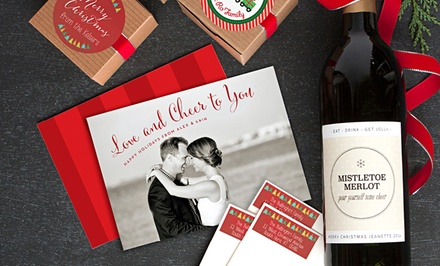 Personalized Labels, Tags, Invitations, and Cards from Evermine (Up to 53% Off). Three Options Available.