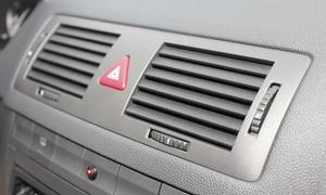 Myjnia Parowa: Ozonowanie klimatyzacji i wnętrza auta (24,99 zł), serwis z uzupełnieniem (49,99 zł) i więcej opcji w Myjni Parowej