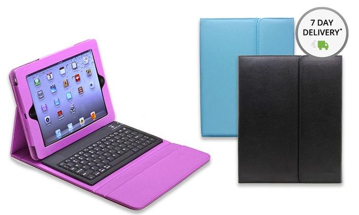 Aduro Liqua-Shield iPad Folio Case with Bluetooth Keyboard: Aduro Liqua-Shield iPad Folio Case with Bluetooth Keyboard. Free Shipping and Returns.