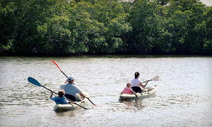 Bonita Kayak Company - Multiple Locations: Half-Day Kayak Excursion for One, Two, or Four from Bonita Kayak Company (Up to 61% Off)