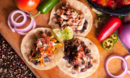 $15 for Three Vouchers, Each Valid for $10 Worth of Mexican Food at Nikos Tacos ($30 Value)