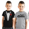 Boys' Humorous Short-Sleeve T-Shirt