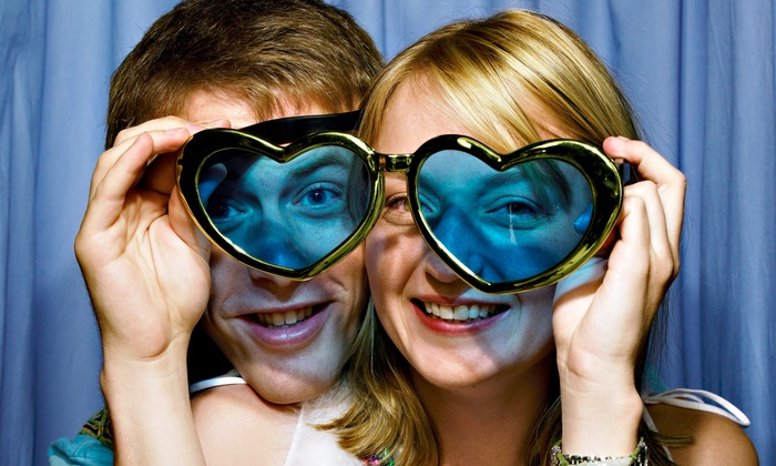 Photo Bomb, LLC - Baltimore: Two-, Three, or Four-Hour Photo-Booth Rental with Prints, Props and Graphics from Photo Bomb, LLC (Up to 60% Off)