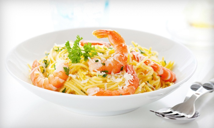 Blue Water Shrimp - Ala Moana - Kakaako: $15 for Three Groupons, Each Good for $10 Worth of Pasta at Blue Water Shrimp ($30 Total Value)