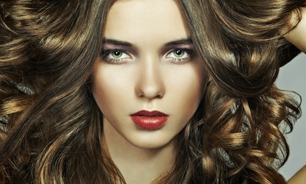 Haircut, Moroccanoil Treatment & Partial Highlights or Keratin Treatment at Bellisima Salon & Spa (Up to 59% Off)