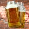 Barbuzzo Mason Jar Beer Steins (1- or 2-Pack)