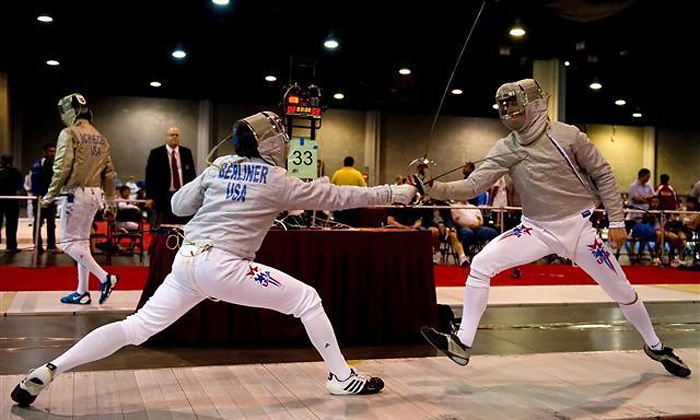 SON DuelLIFE Olympic Fencing Center - Fort Lauderdale: One, Two, or Four Fencing Classes with Introduction and Equipment at SON DuelLIFE Olympic Fencing Center (Up to 68% Off)