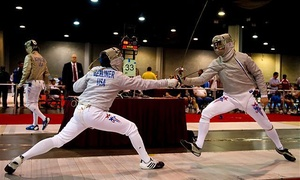 SON DuelLIFE Olympic Fencing Center: One, Two, or Four Fencing Classes with Introduction and Equipment at SON DuelLIFE Olympic Fencing Center (Up to 68% Off)
