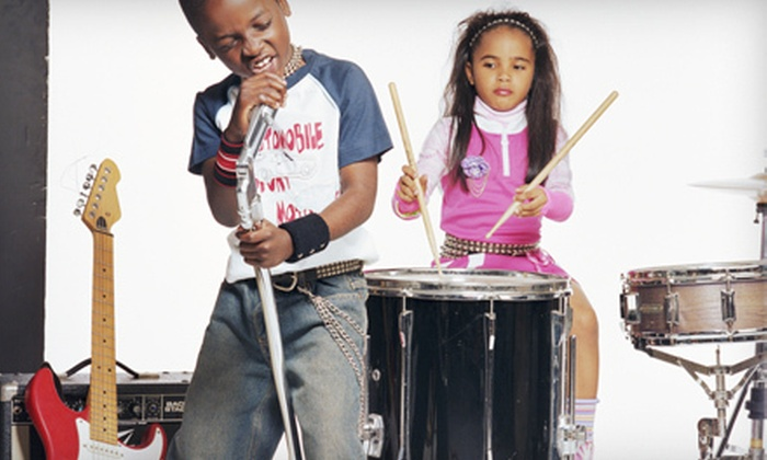 School of Groove - East Cambridge: One, Two, or Three Weeks of Summer Kids' Rock Camp at School of Groove (Up to 59% Off)