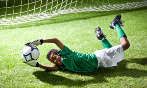 SportsZone: Eight Soccer Classes for One, Two, or Four Kids Ages 2-7 at SportsZone (Up to 57% Off)