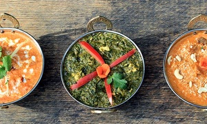 Spice Bistro: $39 for a Three-Course Indian Meal for Two at Spice Bistro ($57 Value)