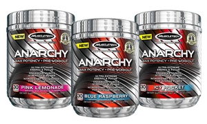 Buy 1 Get 1 Free: MuscleTech Anarchy Pre-Workout Supplement: Buy 1 Get 1 Free: MuscleTech Anarchy Pre-Workout Supplement