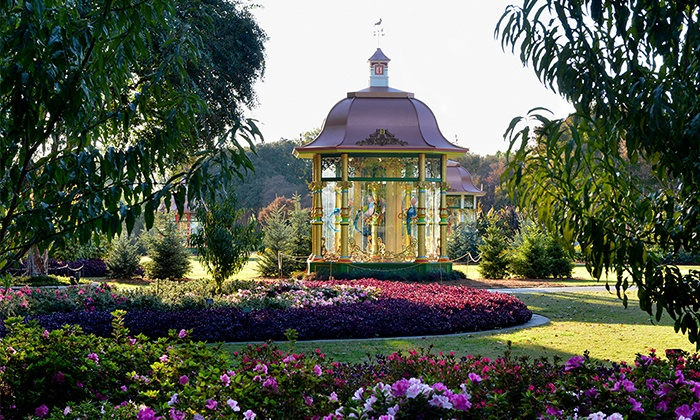 Dallas Arboretum and Botanical Garden - Dallas Arboretum: $15 for 12 Days of Christmas and Artistry of the Nativity for Two at Dallas Arboretum and Botanical Garden (Up to $30 Value)