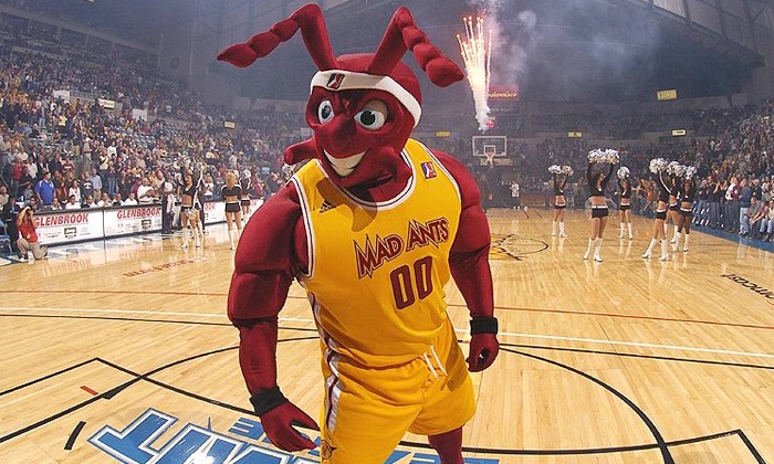 Fort Wayne Mad Ants - Allen County War Memorial Coliseum: Fort Wayne Mad Ants Basketball Game at Allen County War Memorial Coliseum on April 3 or 4 (Up to 69% Off)