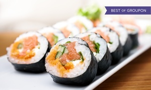 Saisaki Asian Bistro: $15 for $25 Worth of Sushi and Pan-Asian Cuisine at Saisaki Asian Bistro