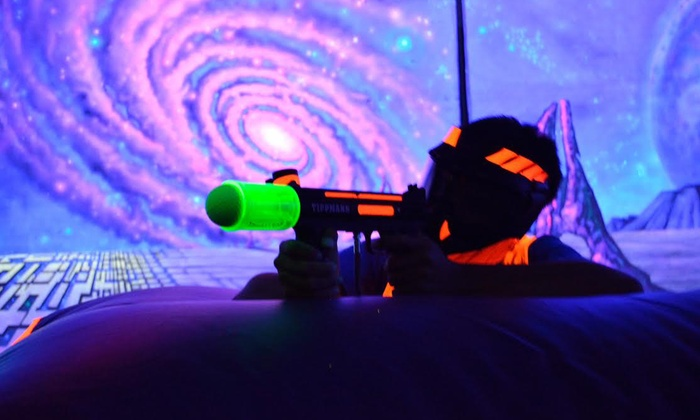 Planet Revo - Planet Revo: LazerBall Soft Paintless Paintball for Two, Four, or Six at Planet Revo (Up to 72% Off)