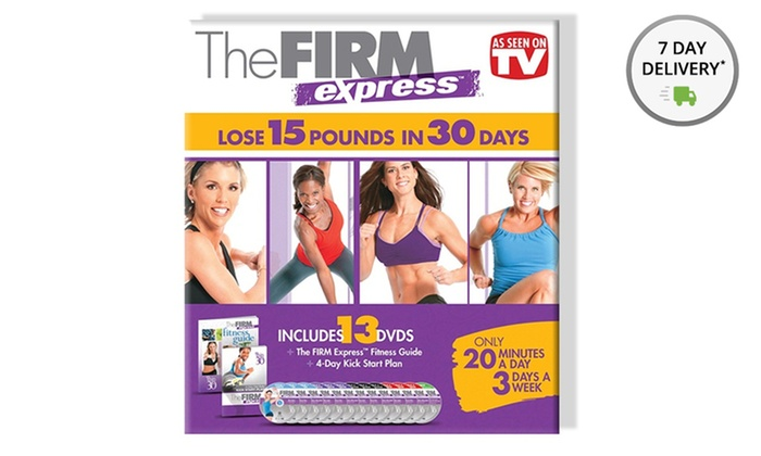 THE FIRM EXPRESS FITNESS GUIDE PDF