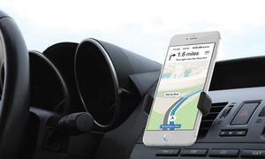 Support smartphone rotatif réglable pour voiture