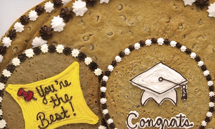 Great American Cookies - Far West Side: $13 for a 16-Inch Round Cookie Cake from Great American Cookies ($26.99 Value)