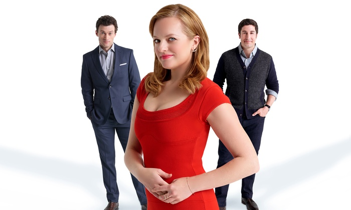 """""""The Heidi Chronicles"""" On Broadway - Music Box Theatre: """"The Heidi Chronicles"""" On Broadway Starring Elisabeth Moss and Jason Biggs on February 23–March 7 (Up to 39% Off)"""