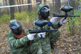 SharpShooter Paintball Field: Paintball Package at SharpShooter Paintball Field LLC (50% Off)