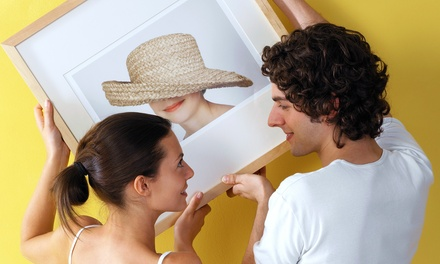 $29 for $120 Worth of Custom Framing at Picture Framing Warehouse and Art Gallery