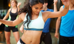 Jeannie Fitness: Five or Ten Zumba Classes at Jeannie Fitness (Up to 58% Off)