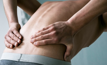 Exam, X-ray, Ortho Pillow, and 1, 3, or 5 Adjustments at Doinidis Chiropractic Health Center (Up to 87% Off)