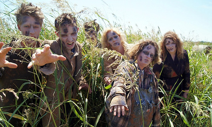 Orr Family Farm - Oklahoma City: Zombie Apocalypse Paintball and Corn-Maze Visit for Two at Orr Family Farm (50% Off). Five Dates Available.