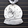 Personalized Snow Globe Ornament from Bliss Stamped Jewelry