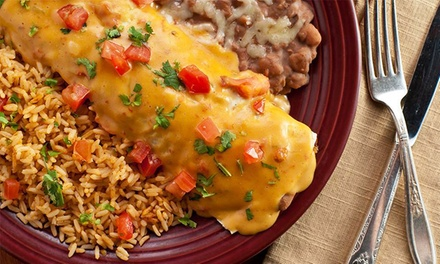 Mexican Dinner for Two or Four or for Carry-Out at El Chico Texarkana(Up to 46% Off)