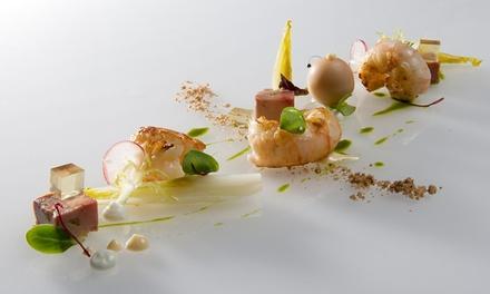 Menu Michelin gastronomique en 4 ou 6 services pour 2 à 6 personnes chez Bretelli à Weert