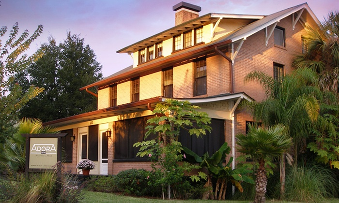 Adora Inn - Mount Dora, FL: 1- or 2-Night Stay for Two with Wine Tasting at Adora Inn in Mount Dora, FL