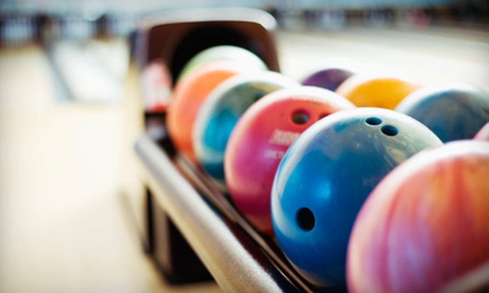 Bel-Mark Lanes - Bel-Mark Lanes: One Hour of Bowling for Four or Eight with Shoe Rental and Beverages at Bel-Mark Lanes (Up to 60% Off)