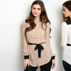 Women's Button-Down Tunic