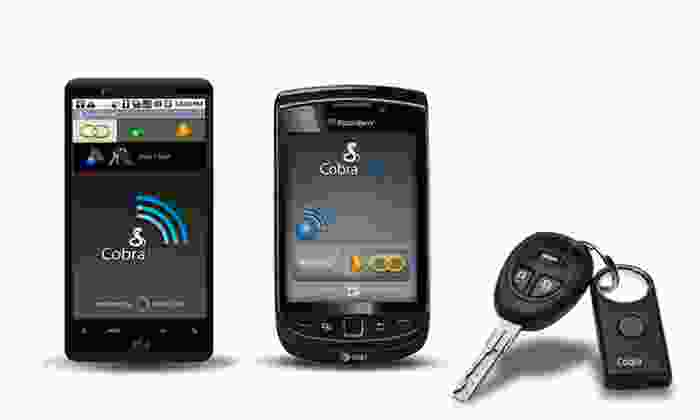 Cobra Tag 2-Way Separation Alarm for BlackBerry and Android: Cobra Tag 2-Way Separation Alarm for BlackBerry and Android. Free Returns.