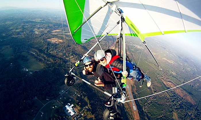 Thermal Valley - Piedmont Triad: Tandem Hang-Gliding for One at Thermal Valley (30% Off)
