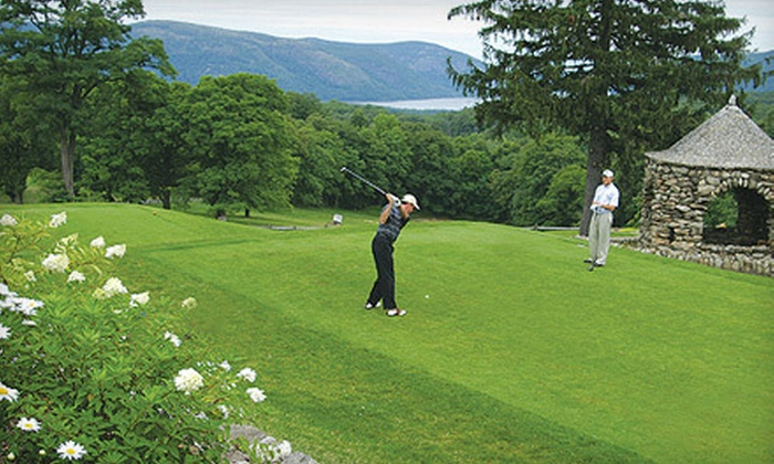 Garrison Golf Club - Briarcliff Manor: 18-Hole Round of Golf for Two or Four with Cart Rental, Range Books, and Drinks at Garrison Golf Club (Up to 63% Off)