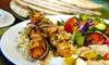 Z Garden - Multiple Locations: $13 for $22 Worth of Fresh and Healthy Mediterranean Cuisine at Z Garden