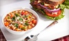 Maison Baguettes - Ottawa: Chocolate Croissants, Breakfast Sandwiches and Coffees, or a Sandwich Meal for Two at Maison Baguettes (Up to 55% Off)