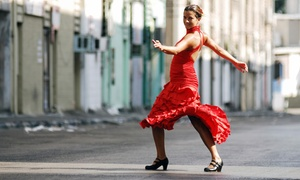 Compania Carmen Romero: Four or Eight Introductory Flamenco Dance Classes at Compania Carmen Romero (Up to 54% Off)