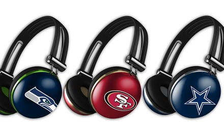 NFL Tough Base the Noise Headphones with Microphone