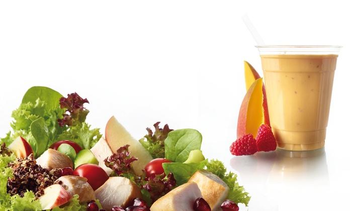 Salate und smoothies hafencity