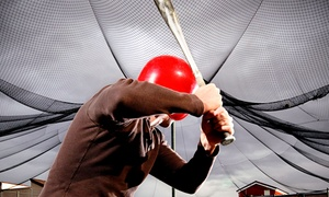 The Ballpark: 10 or 20 Batting-Cage Tokens with Refreshments at The Ballpark (Up to 72% Off)