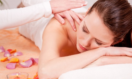 Aromatherapy-Massage Packages at Massage Plus Company (Up to 44% Off). Three Options Available.