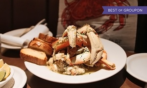 Capurro's: Dungeness-Crab Dinner for Two, Four, Six, or Ten with Dessert at Capurro's (Up to 50% Off)